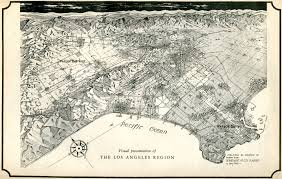 Map Los Angeles Citydig Henry V Wall U0027s Pre Freeway Plan L A Los Angeles Magazine