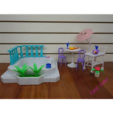 barbie house black friday miniature furniture sunshine corner for barbie doll house toys for