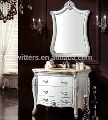 Free Standing Vanity Units Bathroom Traditional French Collection White Bathroom Vanity Unit Cloakroom