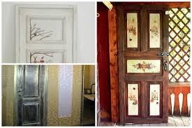 decorating doors patchwork