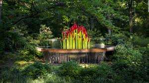 Chicago Botanic Garden Map by Botanic Gardens Add Art Exhibits By Chihuly And Others Cnn Travel