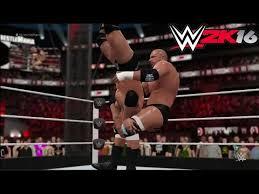 wwe 2k16 ps4 british bulldog vs x pac vs rikishi full match the rock vs triple h wwe 2k16 possible wrestlemania match youtube