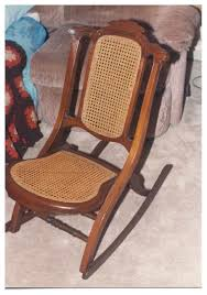 Vintage Rocking Chairs Invention Of First Folding Rocking Chair In U S