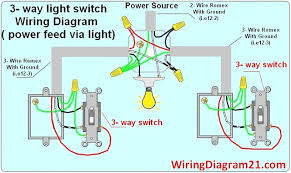 electrical how do you wire multiple outlets between three way