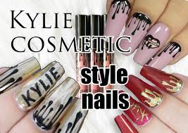 kylie cosmetic style nails 3 ways red iguana april ryan