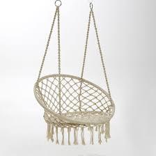 chaise suspendu chaise hamac reelak la redoute interieurs la redoute