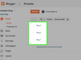 Blog 2 How To Automate Blogger Blogs 7 Steps With Pictures Wikihow