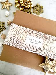 pre wrapped gift box gift giving made easy with sole society pre wrapped gift boxes a