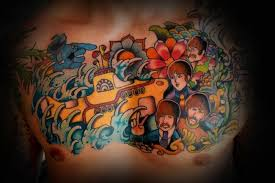 unique beatles tattoos pictures to pin on pinterest tattooskid