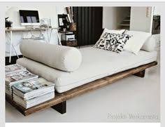 daybed with a diy platform and a twin mattress for the home