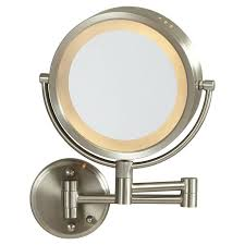 wall mounted hardwired lighted makeup mirror led lighted makeup mirror wall mounted hardwired home co hard wired