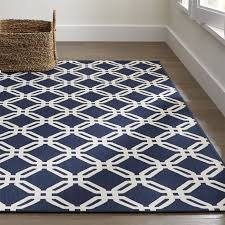 Rug Outdoor Arlo Blue Outdoor Rug Crate And Barrel