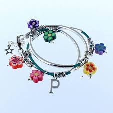 kids flower power noodle bracelet by francesca rossi designs