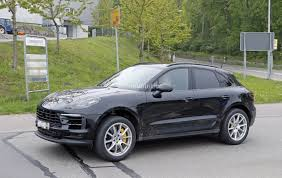 porsche macan interior 2017 2019 porsche macan redesign spy shots interior changes review