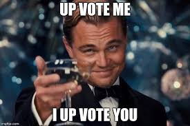 Vote For Me Meme - leonardo dicaprio cheers meme imgflip