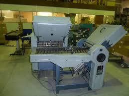 folders used finishing machines stahl t 49 4 4 folding machine