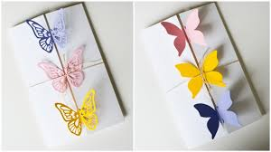how to make greeting card butterflies birthday mother u0027s day