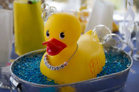 Rubber Ducky Baby Shower Centerpieces by Rubber Duck Baby Shower Centerpiece Old Tin Bucket Large Rubber