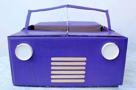 membuat miniatur mobil dari kardus cara membuat mobil dari kardus bekas kerjinan tangan video