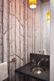 designer bathroom wallpaper wallpaper when it works it really really works bathroom