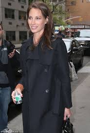christy turlington 45 is the epitome of beauty as she steps out