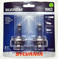 Sylvania Light Silverstar Light Bulb 9003 Hb2 H4 P43t 60 55w