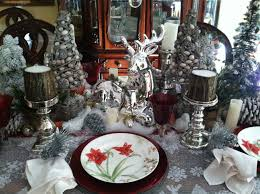 Christmas Decorations Red And Silver Red And Silver Christmas Table Decorations