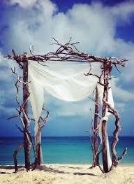 Wedding Arches Beach Rustic Wood Beach Wedding Arch Ideas Jazzy U0027s Gettin U0027 Married