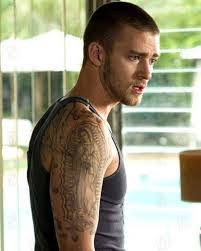 justin timberlake back tattoo pictures to pin on pinterest