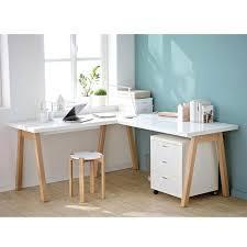 comment faire un bureau fabriquer un bureau avec un plan de travail oslo comment faire un