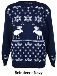 reindeer sweater mens ebay
