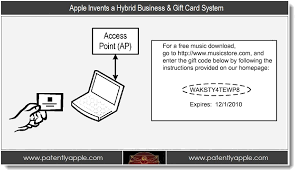 gift card system apple invents a hybrid business gift card system patently apple