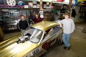 a shop is their studio their canvas a car the spokesman review