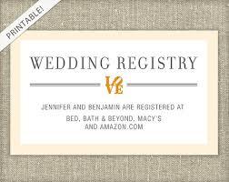 gift registry cards wedding registry cards isura ink