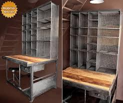 le ancienne de bureau meuble de postier