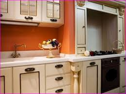 Full Size Of Kitchen Ludicrous Burnt Orange Paint Colors Within A - Orange kitchen cabinets
