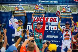 pro motocross salary the list five winners in six motos motocross racer x online