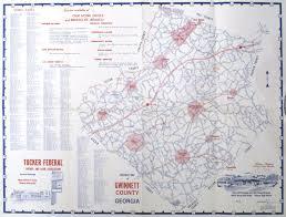 Atlanta County Map The Gwinnett Historical Society Library
