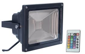 wireless led outdoor flood lights led rgb flood light with wireless infrared controller electrovision