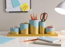 Colorful Desk Organizers Diy Desktop Organizer The Home Depot