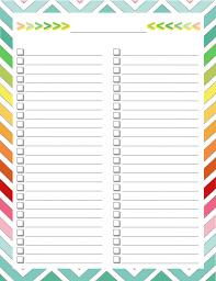free home planner free home management binder blank list things to print
