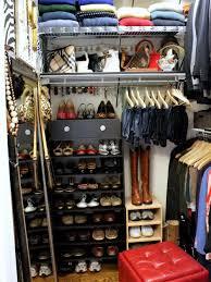shoe storage ideas small closet home design ideas