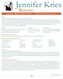 Trainer Resume Example Yoga Instructor Resume Business Email College Student Email