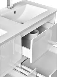 900mm Bathroom Vanity by Madero 900 Classic White Bathroom Modern Contemporary Wall Hung