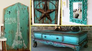 home furniture decor diy shabby chic distressed turquoise old furniture decor ideas