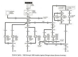 ford ranger wiring by color 1983 1991 with 1983 ford f150 wiring