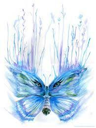 image result for wolf eyes in butterfly wings tattoos