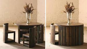 Table With Hidden Chairs Arlene Designs - Dining table with hidden chairs