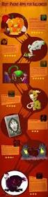 best iphone apps for halloween infographic u2013 infographic list