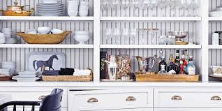 Open Kitchen Shelf Ideas White Kitchen Shelves Christmas Lights Decoration